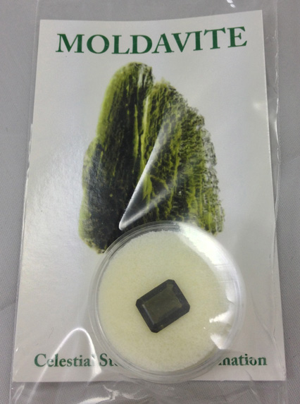 Moldavite Faceted